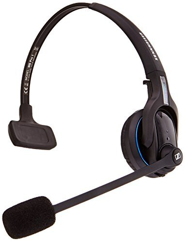 eeb57a1293c Sennheiser MB Pro1 ML Bluetooth Single-sided Headset with Dongle and Lync:  Amazon.in: Electronics