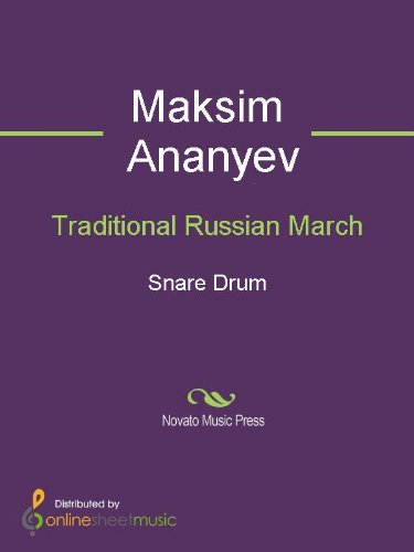 Traditional Russian March - Snare Drum ()