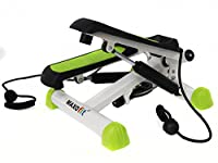 MAXOfit® Deluxe Swing Stepper Greenline MF-11 mit Zählwerk, Ministepper...