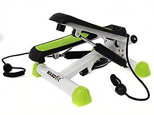 MAXOfit® Deluxe Swing Stepper Greenline MF-11 mit Zählwerk, Ministepper...