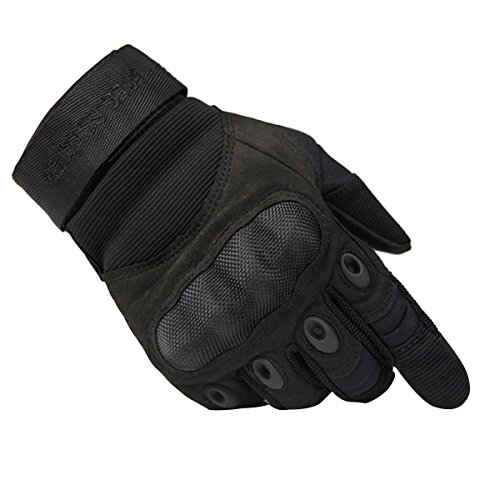 FREE SOLDIER Tactical Gloves for Men Military Hard Knuckle Full Finger Gloves Armor Gloves