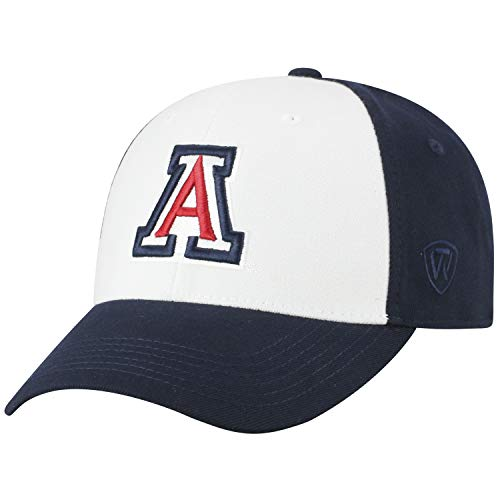 Top of the World NCAA-Premium Collection Two Tone-One-Fit-Memory Fit-Hat Cap- Arizona Wildcats