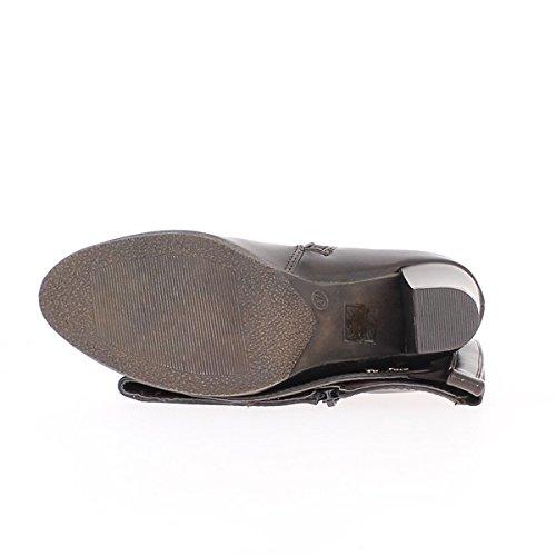Stivali da donna nero con tacco 6cm