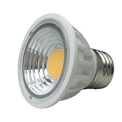 LEDISON LIGHTING® (1-Piece) UL-Listed PAR16/MR16 LED Spotlight E26 5Watt, Dimmable 120V AC, Flood Bulb, 50W Halogen Bulb Equivalent, Standard Size, Accent, Landscape, Track Lighting
