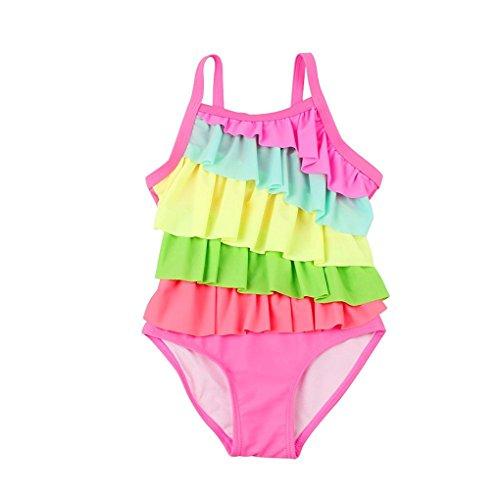 Yober Baby Girl One-Piece Swimsuit Falba...
