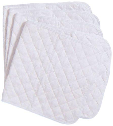Tough 1 Quilted Leg Wraps, White, 14x30-Inch by Tough 1