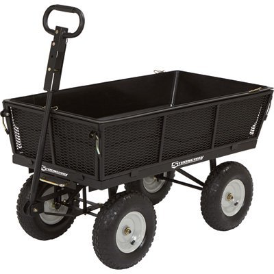 Strong Way  - 5 Cubic Feet 1,200 lbs Capacity Dump Cart
