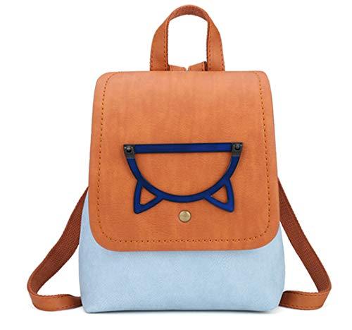 dos sacs mode sac de dos bonbons de Petit filles Blue dos femmes couleur d'école adolescents sac voyage femmes sac sacs xwXntY