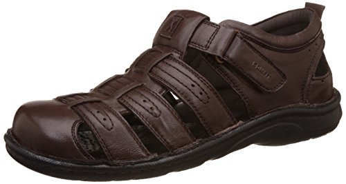 BATA Men's Fisherman Leather Athletic & Outdoor Sandals
