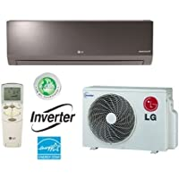 LG LA090HSV2 Ductless Air Conditioner, 19 SEER Single-Zone Wall Mount Mini Split System w/ Heat Pump - 9,000 BTU