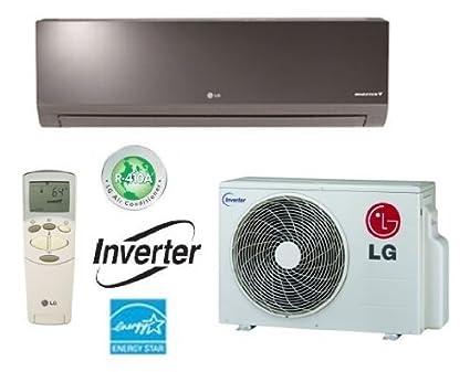 amazon com lg la090hsv2 ductless air conditioner 19 seer single