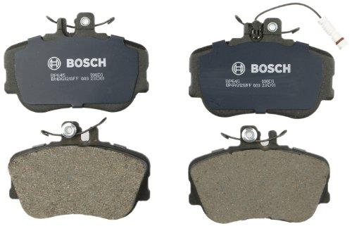 Bosch BP645 QuietCast Premium Semi-Metallic Disc Brake Pad Set For Mercedes-Benz: 1994-1996 C220, 1997-1998 C230, 1994-1995 C280; Front