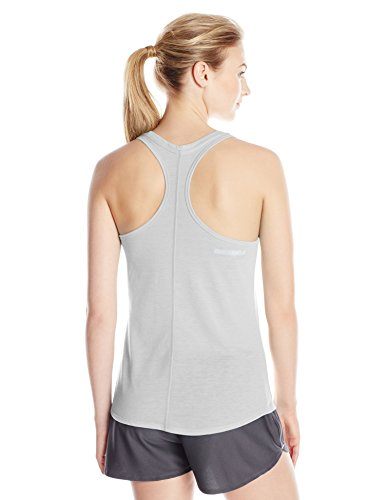 Under Armour Threadborne Streaker Tank - Camiseta sin mangas para mujer True Gray Heather/Reflective