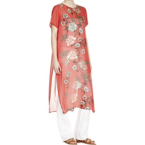 vince-camuto-womens-chiffon-floral-print-tunic-top-pink-m