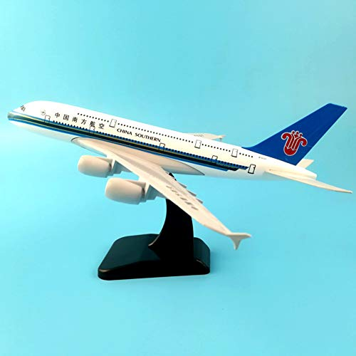 - Marreto 20Cm Plane Model Air China Southern Airlines A380 Airplane Model 1/350 Scale Diecast Airways W Stand Aircraft Gift Toys