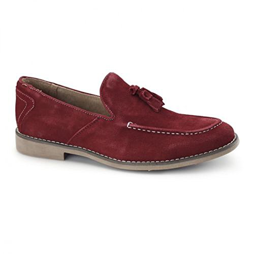 Front Barnes Shoes in Red