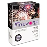 Boise® Fireworx™ Multipurpose Colored Paper PAPER,FRWX,8.5X11,20LB,LV 4213BL (Pack of15)