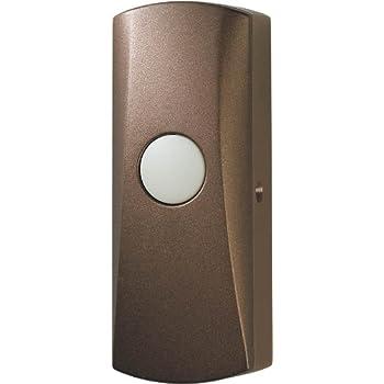 Wireless Doorbell Button Oil Rubbed Bronze Doorbell