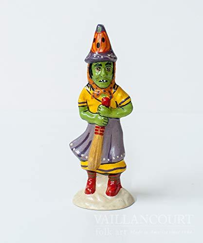 Vaillancourt Folk Art Halloween Witch -