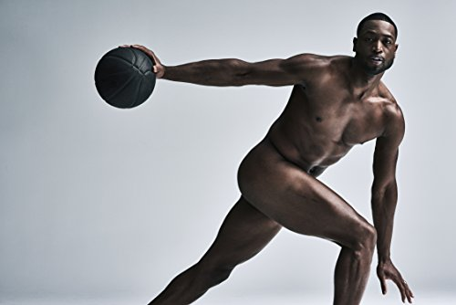Dwyane Wade Sports Poster Photo Limited Print Chicago Bulls NBA Basketball Player Naked Nude Sexy Celebrity Olympics Athlete Size 8x10 #1