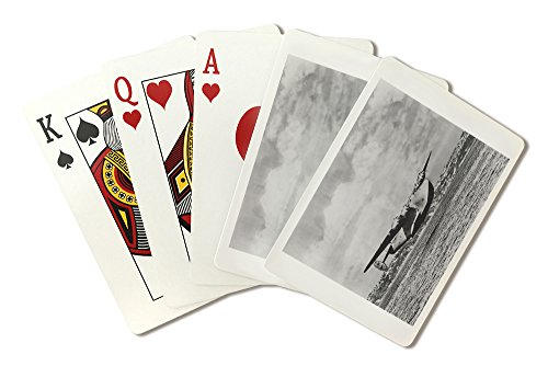 Boeing 314 China Clipper Over Water Airplane Photograph (Playing Card Deck - 52 Card Poker Size with Jokers)