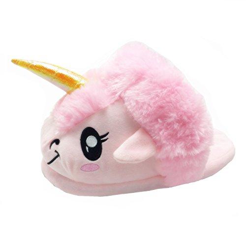 Pink Design novità 2016 Unicorno felpa Pantofole Scarpe 42 Inverno design Nuovo Animal Caldo 36 nYZx1ZOF0
