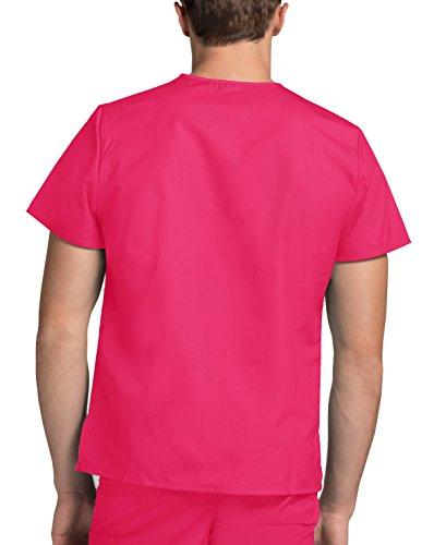 Infermiera Uniformi Da Punch Lavoro Superiore fruit Mediche Adar Unisex Parte Ospedale Rosa Camice YwFUqFd