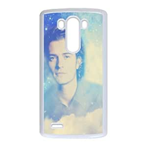 Orlando Bloom LG G3 Cell Phone Case White rljh