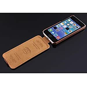 LZX sold out Real Leather Flip Cover Unique Phone Cases for iphone 5c , Black
