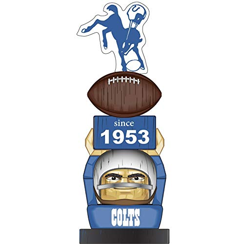 - Team Sports America Indianapolis Colts Vintage NFL Tiki Totem Statue