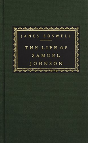 The Life of Samuel Johnson (Everyman's Library)