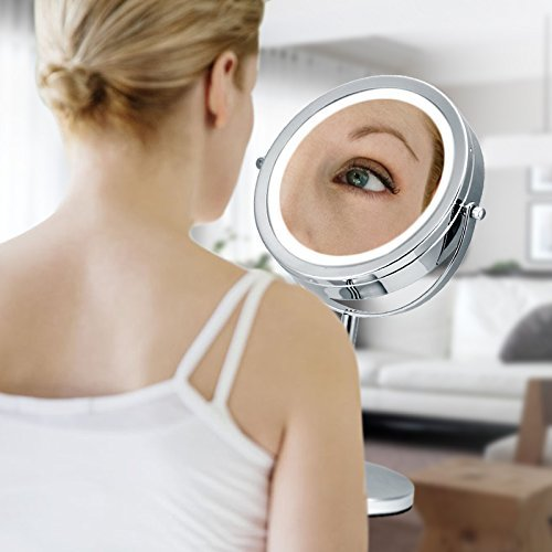 Magnification of Best Lighted Makeup Mirror