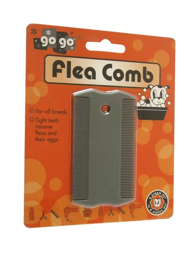 UPC 879349008110, GoGo Pet Products Double Sided Flea Pet Grooming Comb