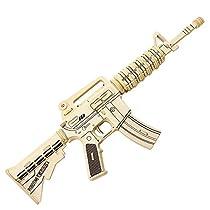 Robotime 3D DIY Wooden Puzzles M4 Gun JZ403 Model Kits Diy Block Building Jigsaw Toy For Kid Christmas Gift