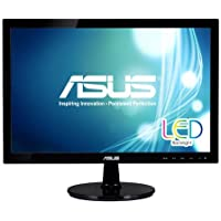ASUS VS207D-P 19.5 HD+ 1600x900 VGA Back-lit LED Monitor