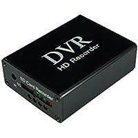 Brandoo Mini 1 Channel SD DVR for Video Recording,Black Box,Support Motion Detection