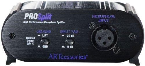 ART ProSplit High-Performance Transformer Isolated Microphone Splitter by ART