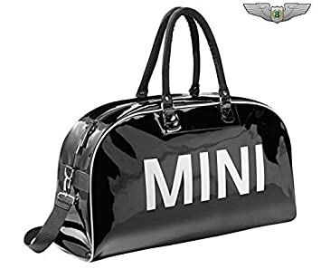 Bmw Mini New Original Retro Schwarz Reisetasche Sports Duffle