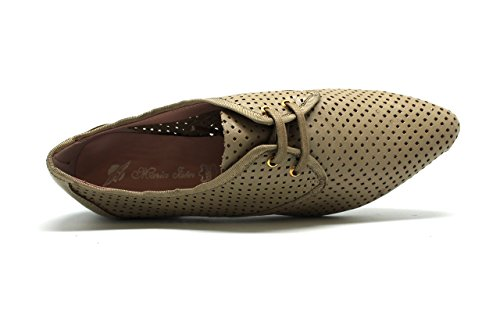 Zapato de vestir de mujer - Maria Jaen modelo 8245N Beige