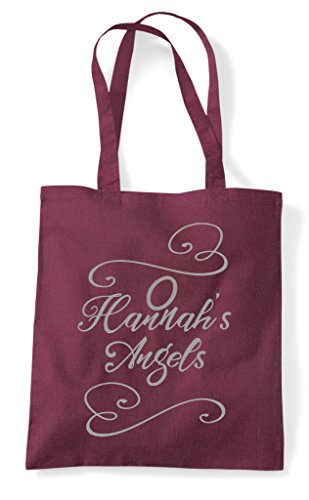 Do Burgundy Angels Hen Tote Party Customised Bag Shopper q4gvgF