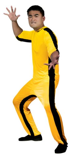 Game of Death Kill Bill Bruce Lee Jumpsuit Costume