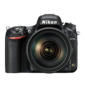 Nikon D750 24.3 Digital SLR Camera (Black) Body