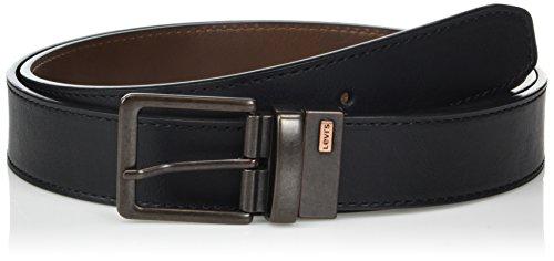 : Levi's Men's Reversible Bridle Belt with Antique-Finish Buckle