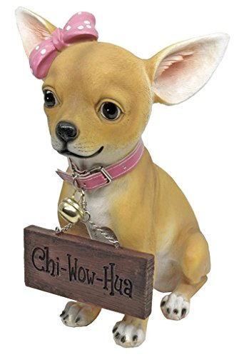 Pretty Pink Chihuahua Greeter Statue product image