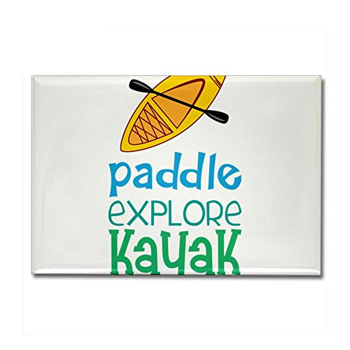 Whitewater Kayak Magnet (CafePress - Kayak Rectangle Magnet - Rectangle Magnet, 2