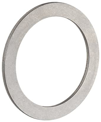 "INA TWA815 Thrust Roller Bearing Washer, Open End, Inch, 1/2"" ID, 15/16"" OD, 1/32"" Width"