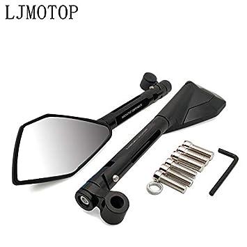Amazon.com: FINCOS Motorcycle Blind Spot Mirror Moto ...