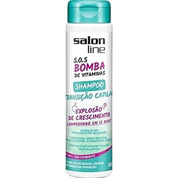 Linha Tratamento (SOS Bomba de Vitaminas) Salon Line - Shampoo Transicao Capilar Explosao de