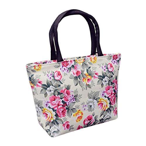 (Toponly Women Girls Shopping Handbag Canvas Printing Shoulder Tote Shopper Bags Bohemian )