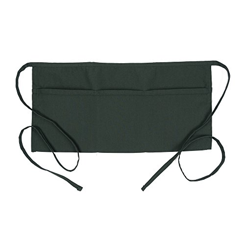Fame Adult's 3 Pocket Waist Apron -Hunter Green-O/S